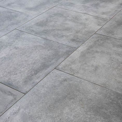Fliese für die Terrasse auf Stellfüße - Schiefer - 80 cm x 80 cm - Rinno  Carrelage