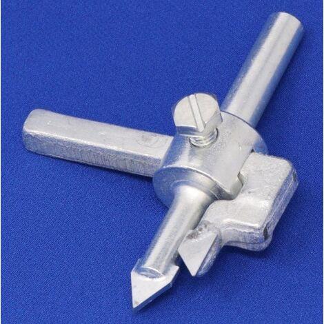 Fliesen-Lochschneider für Lochgrößen 28-85mm, HM-bestückt