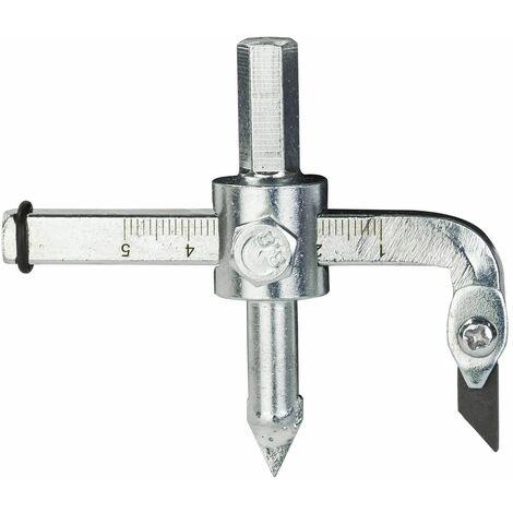 Fliesenlochschneider Kreisschneider Lochschneider Fliesen Lochbohrer 30-110 mm
