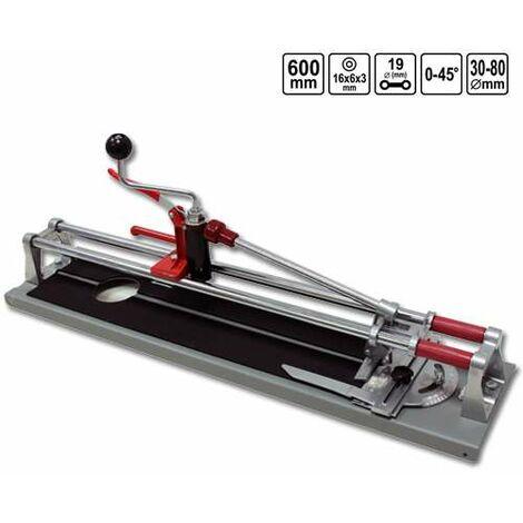 Fliesenschneider 600 mm 3 Funktionen Fliesenlochschneider
