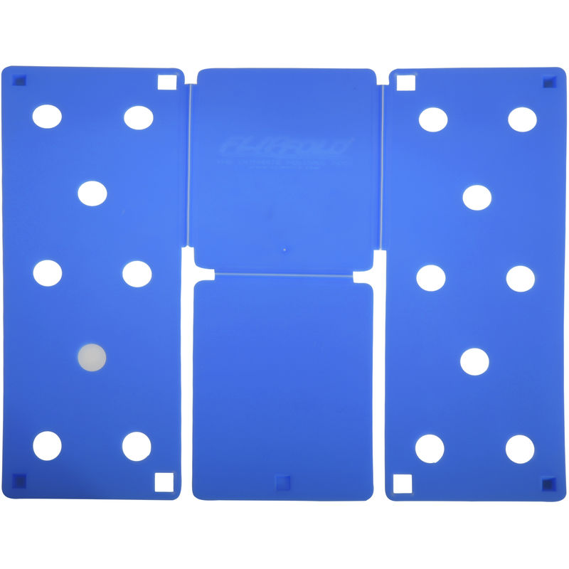 Image of Standard Garment Folding Tool (Pack of 2) (One Size) (Blue) - Flip Fold