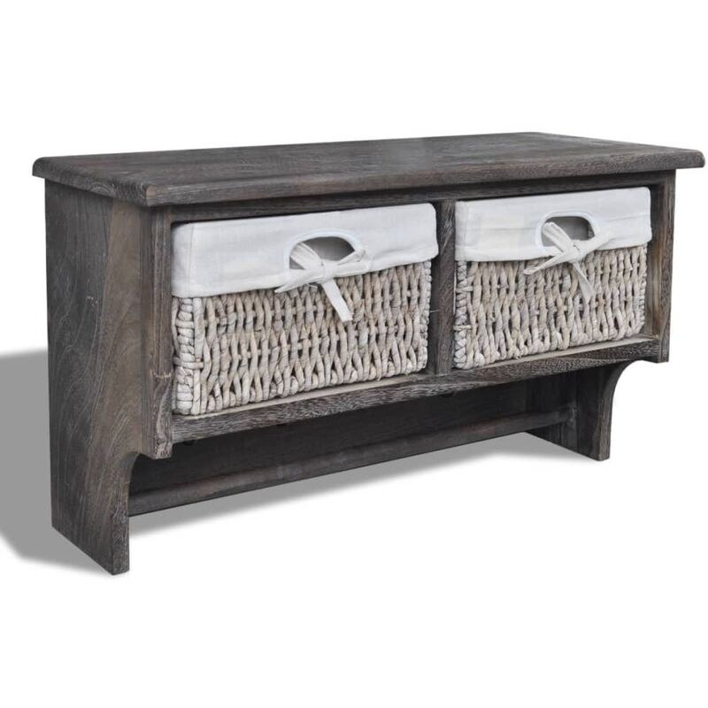 Image of Flippo Wall Shelf by Highland Dunes - Brown