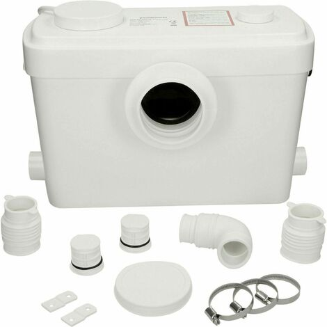 Flo-Force Ultra Sanitary Macerator Bath Sink Shower Waste Pump 600w 3 Inlets