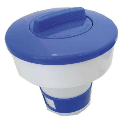 Floating dispenser for above-ground pools