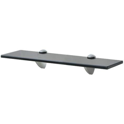 "main image of ""Floating Shelf Glass 40x10 cm 8 mm - Black"""