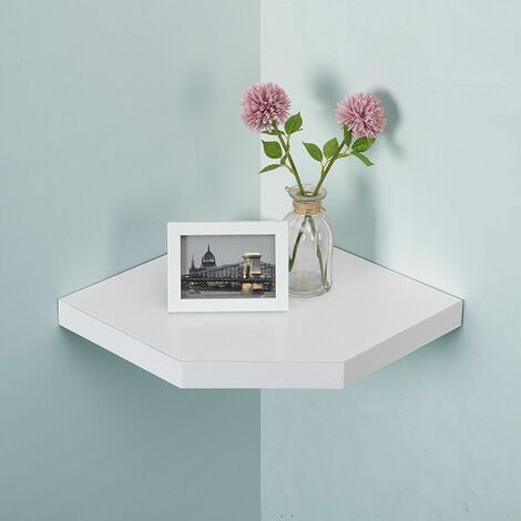 Floating Wall Corner Shelf