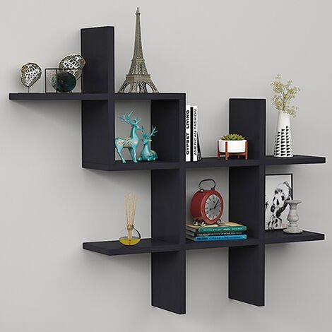 Floating Wall Shelves Display Bookshelf Storage Rack