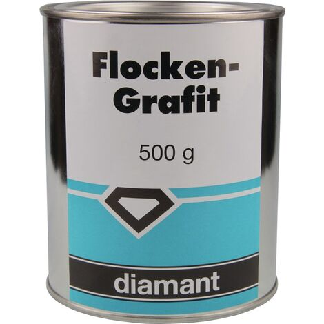 Flockengrafit 500g Dose DIAMANT