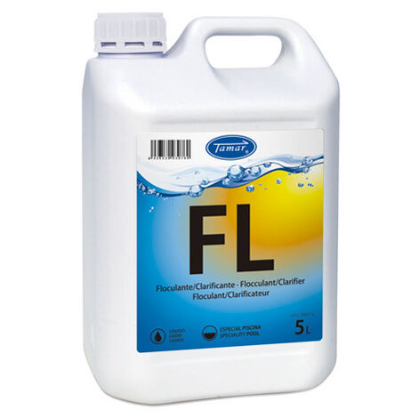 FLOCULANTE / CLARIFICANTE EN 5 L. - Tamar
