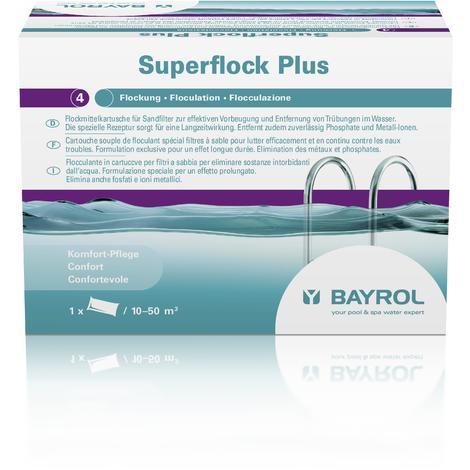 Floculante en cartuchos para filtros de arena Superflock Plus 1 kg Bayrol (8 Unidades)