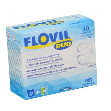 Floculation à double action - flovil duo