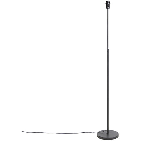 Floor lamp Adjustable Black - Parte