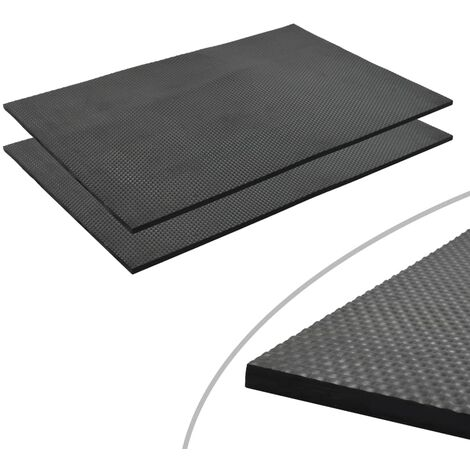 Floor Mat Anti-Slip Rubber 1.2x0.8 m 18 mm Pebble