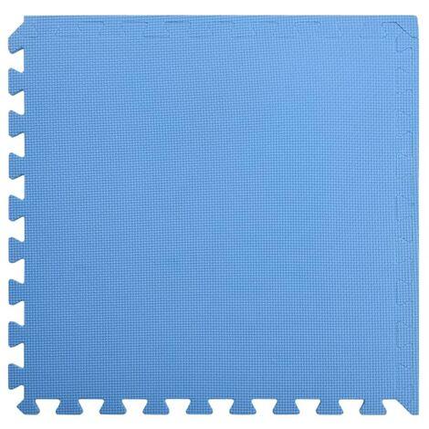 Floor Mats 24 pcs 8.64 ㎡ EVA Foam Blue