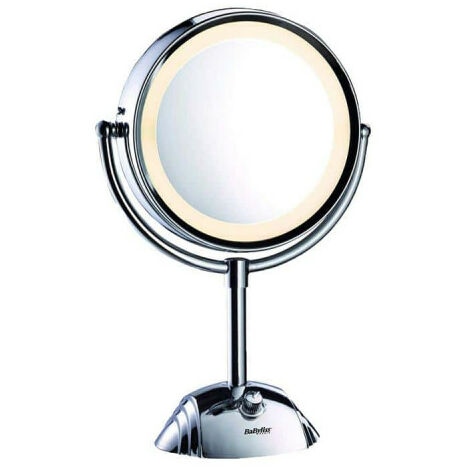 Floor mounted light mirror BABYLISS 8438 E