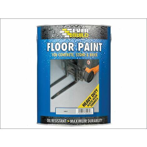 Floor Paint Grey 5 Litre EVBFLOORGR