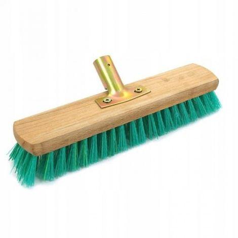 Floor scrubbing brush 30cm nylon handle