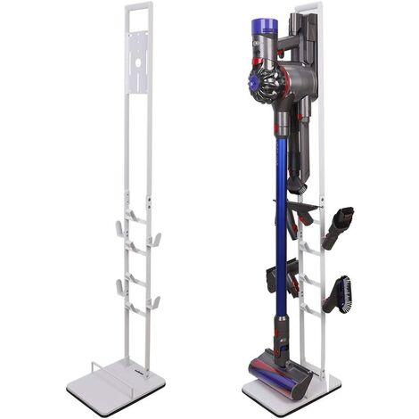 Floor Stand Holder For Dyson Cordless Vacuum Cleaner V7 V8 V10 Motorhead Storage,White