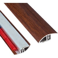 Floor Transition Strip Self Adhesive Threshold Border -Mahogany- 900mm