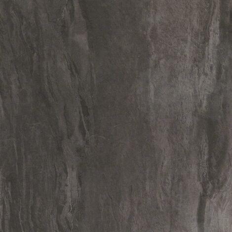 "main image of ""Floorpops Raven Self Adhesive Vinyl Floor Tiles Modern Grey Concrete Kitchen"""