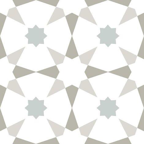 Floorpops Stellar Self Adhesive Vinyl Floor Tiles Modern Black White Kitchen