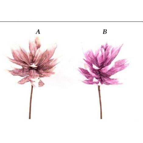 Flor artificial de tela B