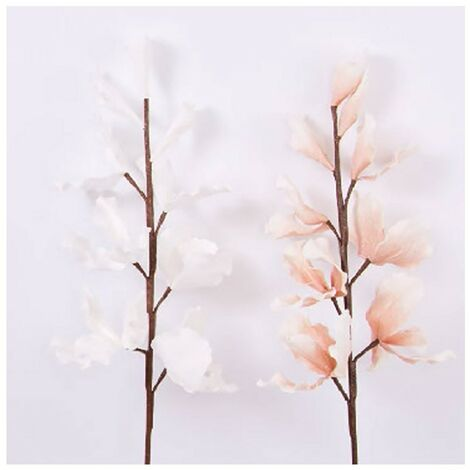 Flor artificial, eva acolchada (100 cm) dos colores Rosa