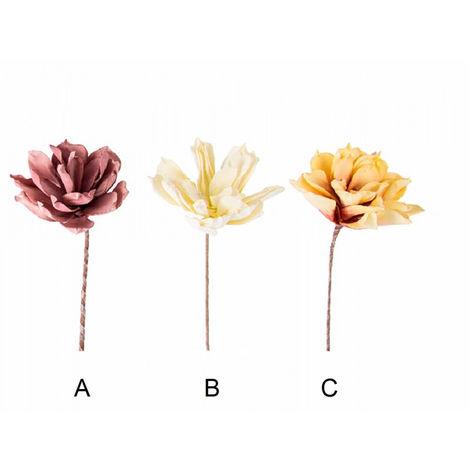 Flor artificial - Eva acolchada (70 cm) C