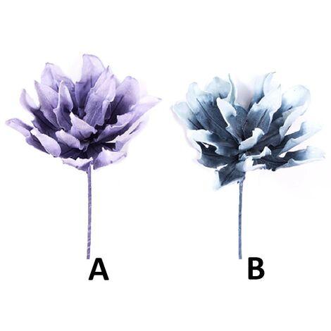 Flor artificial, eva acolchada, dos colores (90 cm) A