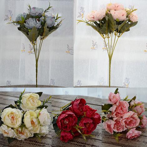 Flor artificial, flor artificial de la decoracion de la planta artificial