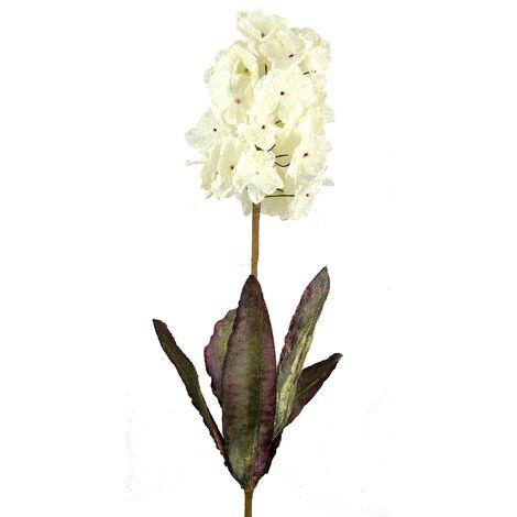 Flor de tela 100 cm 3 colores Blanco
