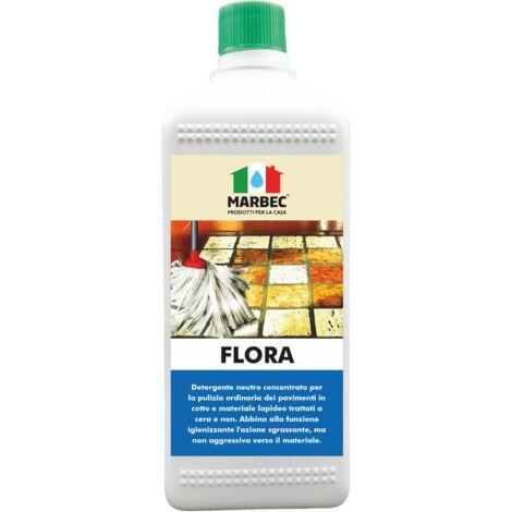 FLORA   Detergente neutro igienizzante per pavimenti