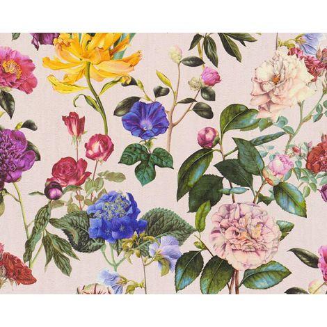 Floral Roses Retro Blush ASC