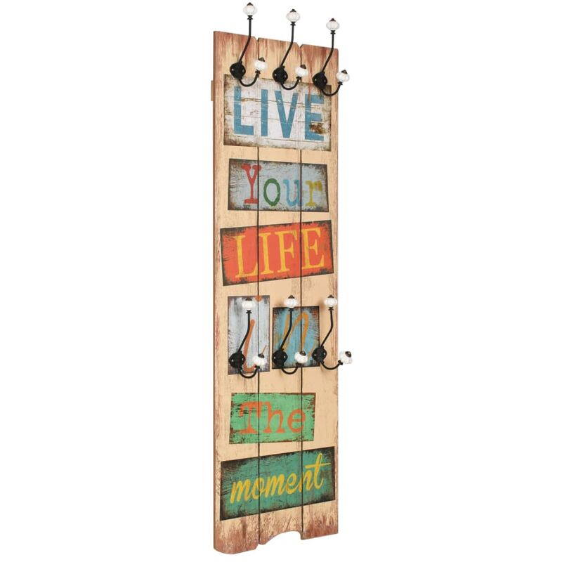 Image of Florala Wall Mounted Coat Rack by Highland Dunes - Multicolour