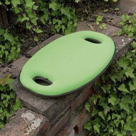 Floraworld 011248cuscino per seduta e ginocchio Premium, Verde, 48x 29x 5cm