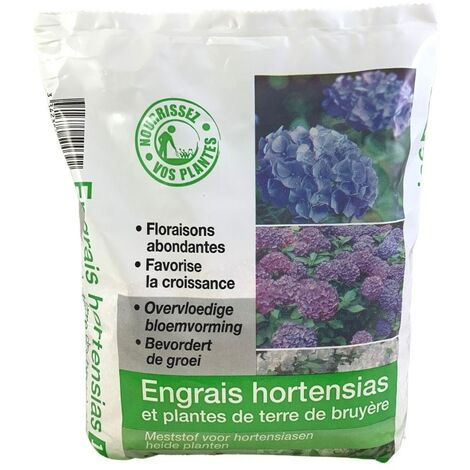 FLORENDI Engrais hortensias et plantes de terre de bruyères, 1kg