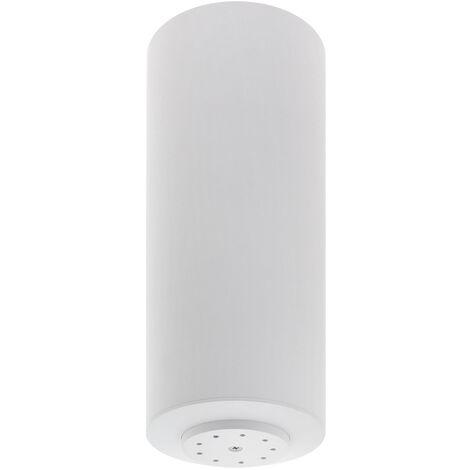 Florón redondo blanco, Ø100x260mm