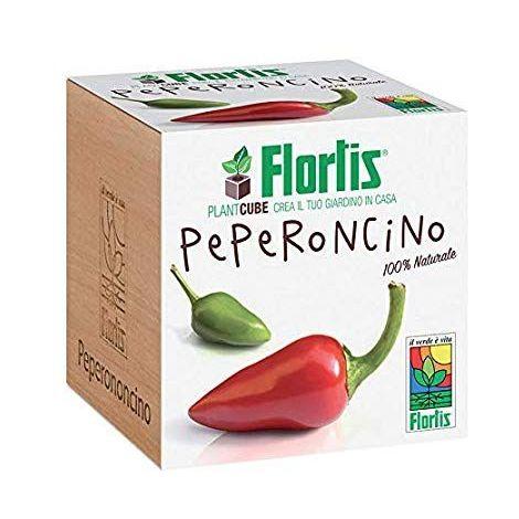 Flortis Plantcube Peperoncino 7.5x7.5x7.5 cm