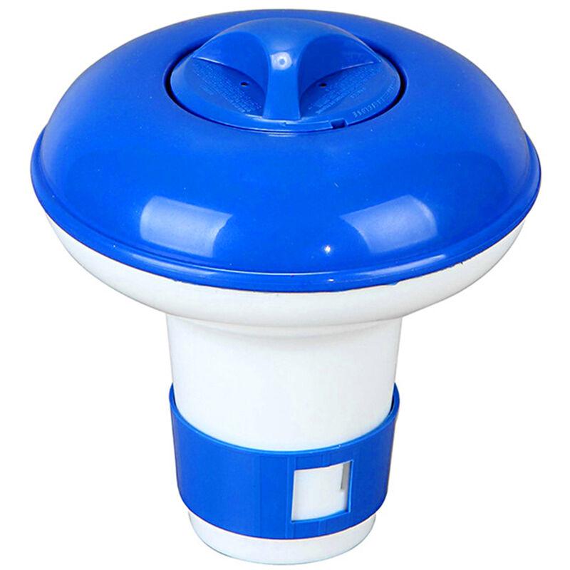 Flottante Tablet Spa Chimique Distributeur Flottant De Chlore Piscine Distributeur Chimique Support Pour 1,5 Pouces Chlore Comprimes Events A Debit