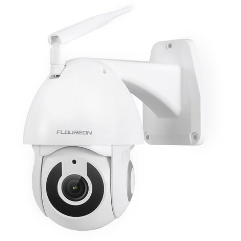 FLOUREON YI IOT Caméra HD 1080P WiFi IP Caméra de sécurité Pan / Tilt Motion IR Vision Nocturne, Alexa