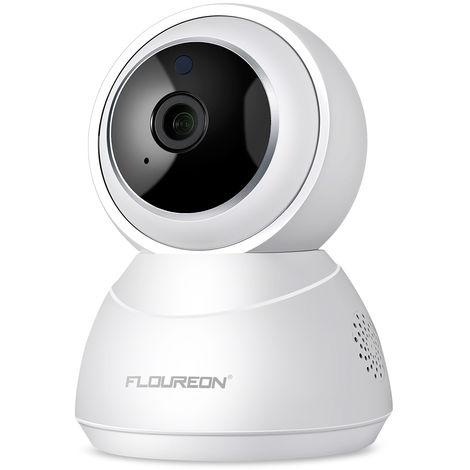 FLOUREON YI IOT Cloud Home Camera, Caméra IP sans fil 1080p HD vision nocturne panoramique / inclinaison / zoom