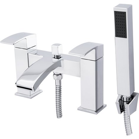 Flow Bath Shower Mixer Tap & Kit