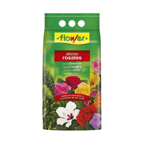 FLOWER Abono Granulado para ROSALES, 4 kg