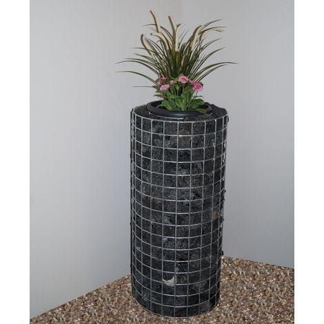 Flower column height 82 cm, diameter 37 cm