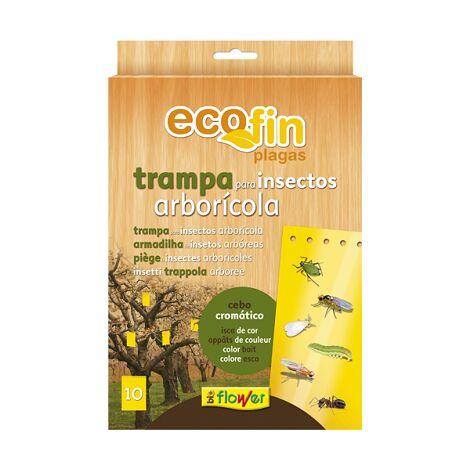 FLOWER ECOFIN Trampa Anti Insectos para Árboles Envase 10 trampas