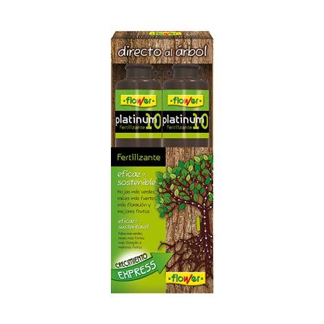FLOWER Fertilizante Líquido Directo al Árbol Platinum 10, Suspensión Concentrada, 200 ml