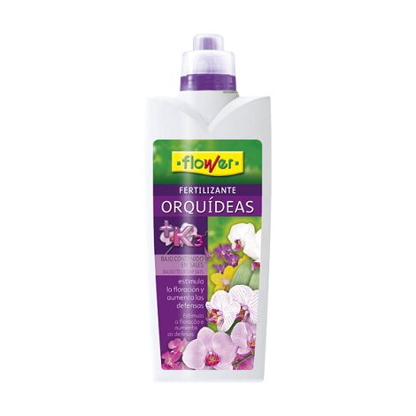 FLOWER Fertilizante Líquido Orquídeas, 1 Litro