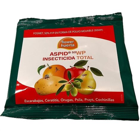FLOWER Insecticida ASPID 50 WP, Envase 35 gr