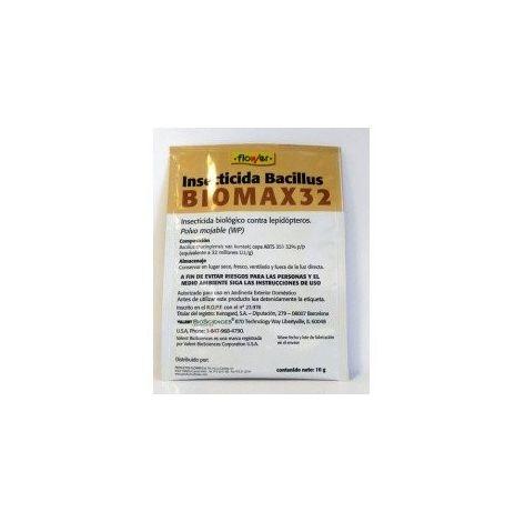 Flower Insecticida Bio Biomax Bacillus10 Gr