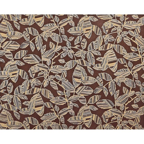 Flower paste the wall wallpaper XXL EDEM 923-36 textured nonwoven elegant floral pattern metallic lustre brown red brown gold 10.65 m2